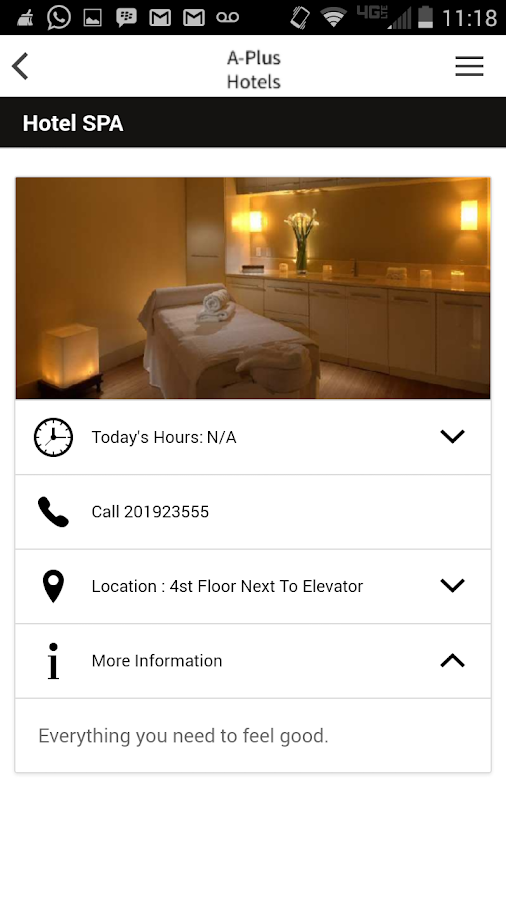 HAPP for Hotels- screenshot