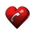 Love call icon