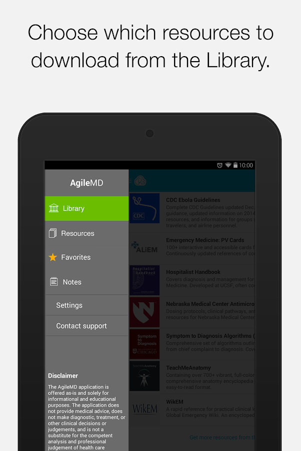 AgileMD- screenshot