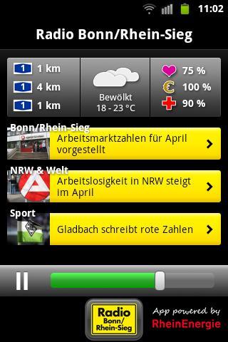 Radio Bonn/Rhein-Sieg- screenshot