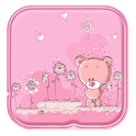 Cute Teddy Bear Live Wallpaper icon