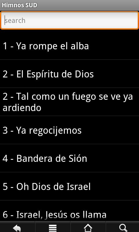 LDS Hymns Spanish - screenshot