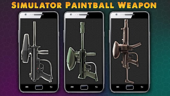 Simulator Paintball Weapon
