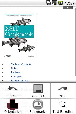 Android Chm EBook Reader - screenshot