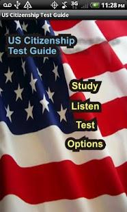 US Citizenship Test Guide 2013 - screenshot thumbnail