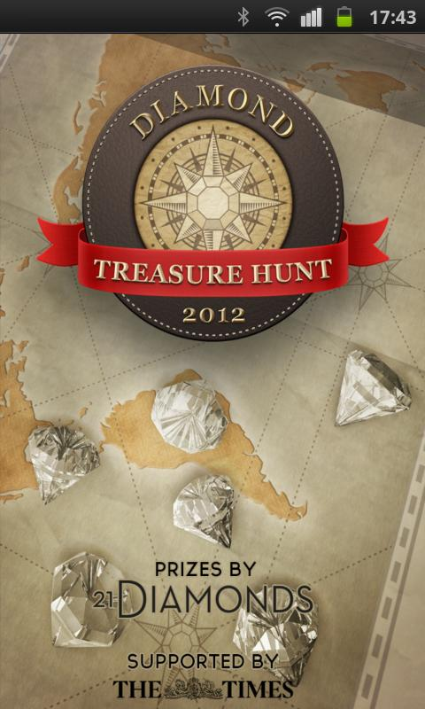 Diamond Treasure Hunt - screenshot