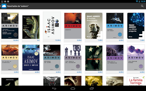 Nubico: eBooks y revistas- screenshot thumbnail