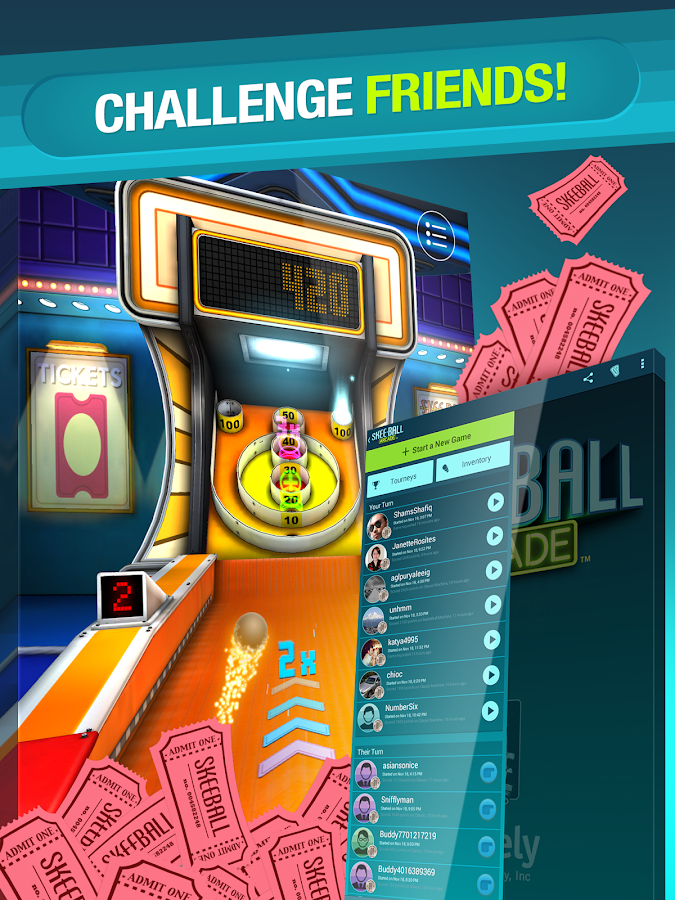 Skee-Ball Arcade - screenshot