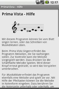 Prima Vista Sight Singing- screenshot thumbnail