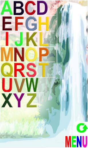 字母和計數英語