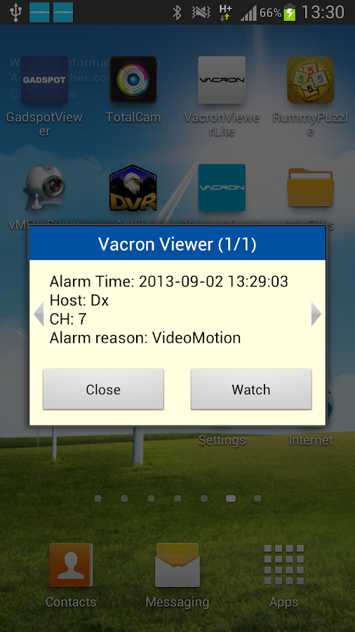 VacronViewer- screenshot