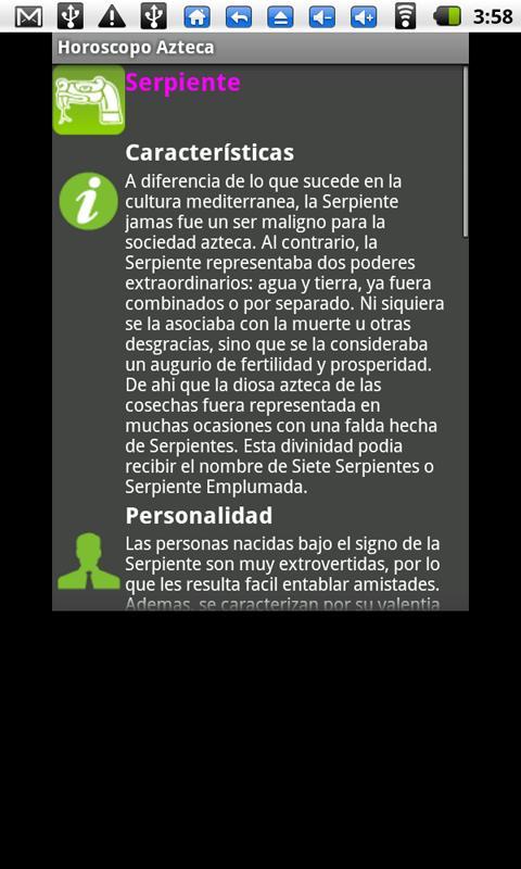 Horóscopo Azteca - Gratis - screenshot