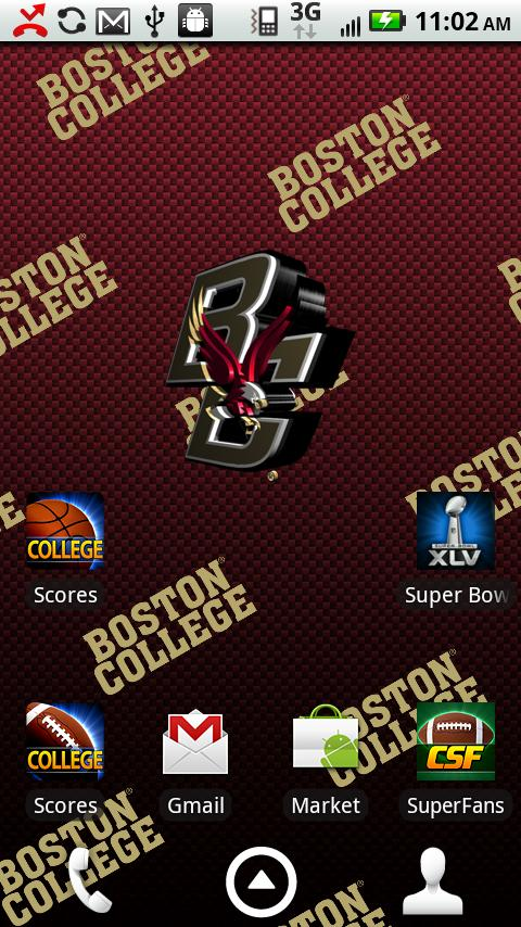 Boston College Live Wallpaper - screenshot