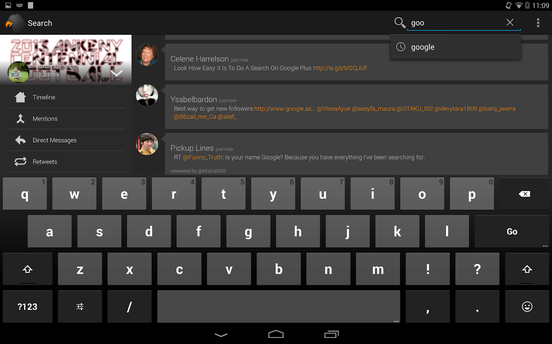 Talon (Blur Launcher Page) - screenshot