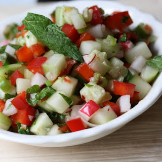 Vegetable-Mint Salsa.