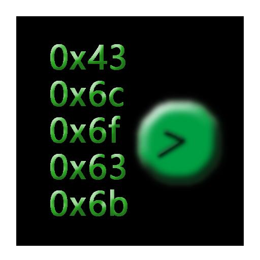 AsciiClock LOGO-APP點子