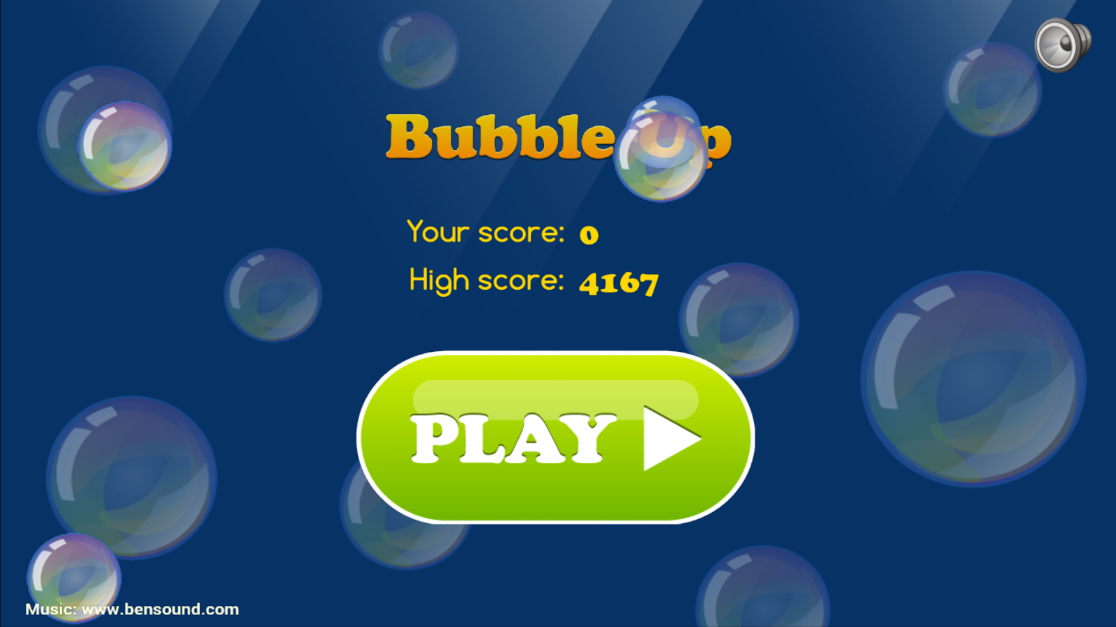 Bubbles frog and bees for kids- screenshot