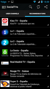 SocialTVs - Live Social TV - screenshot thumbnail