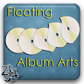 Floating Album Arts LWP