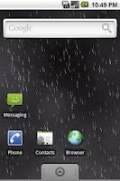 Screenshot of Live Wallpaper: Raining