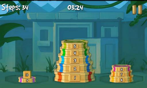 Tower of Hanoi Deluxe (Ханойская Башня) - математическая головоломка скачать на Андроид