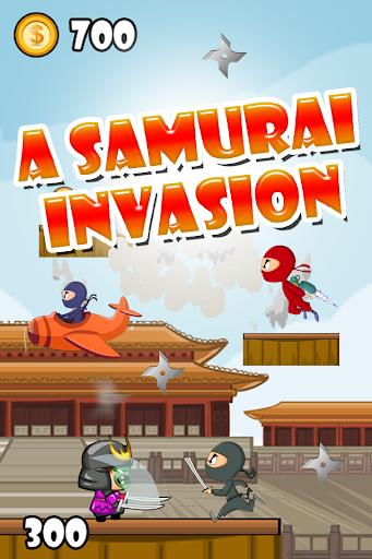 サムライ侵攻ゲーム