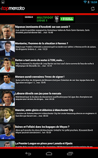 Top Mercato : actu foot- screenshot thumbnail