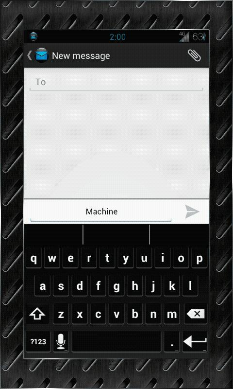 MACHINE Theme Chooser AOKP CM- screenshot