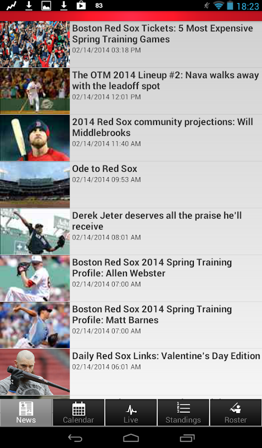 Boston Baseball - screenshot