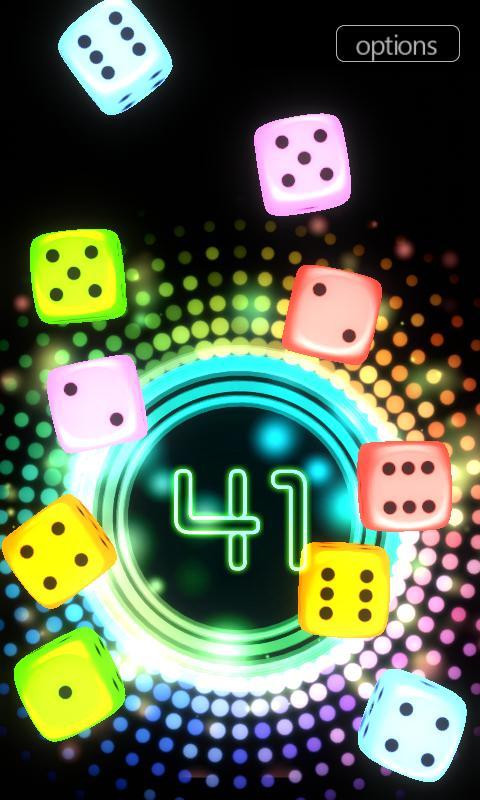 Neon Dice 3D- screenshot
