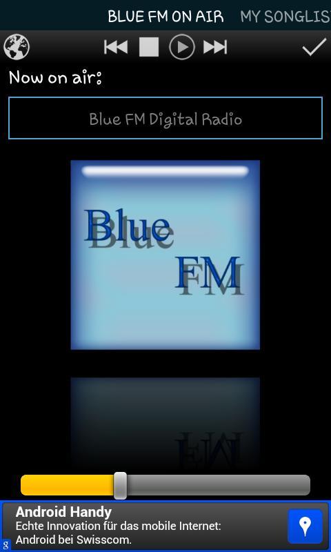 블루 FM 한국 디지털 라디오 - screenshot