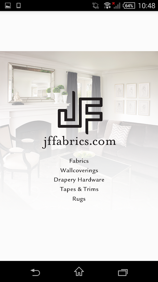 JF Fabrics- screenshot