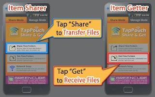 Screenshot of WiFi File Transfer for Phone