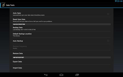DriverDiary - Gas Mileage Screenshot 19