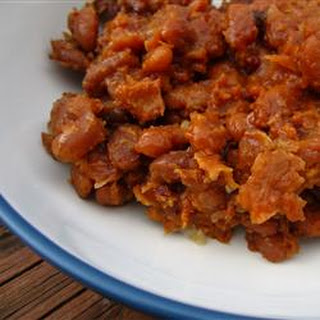 Slow Cooker Baked Beans