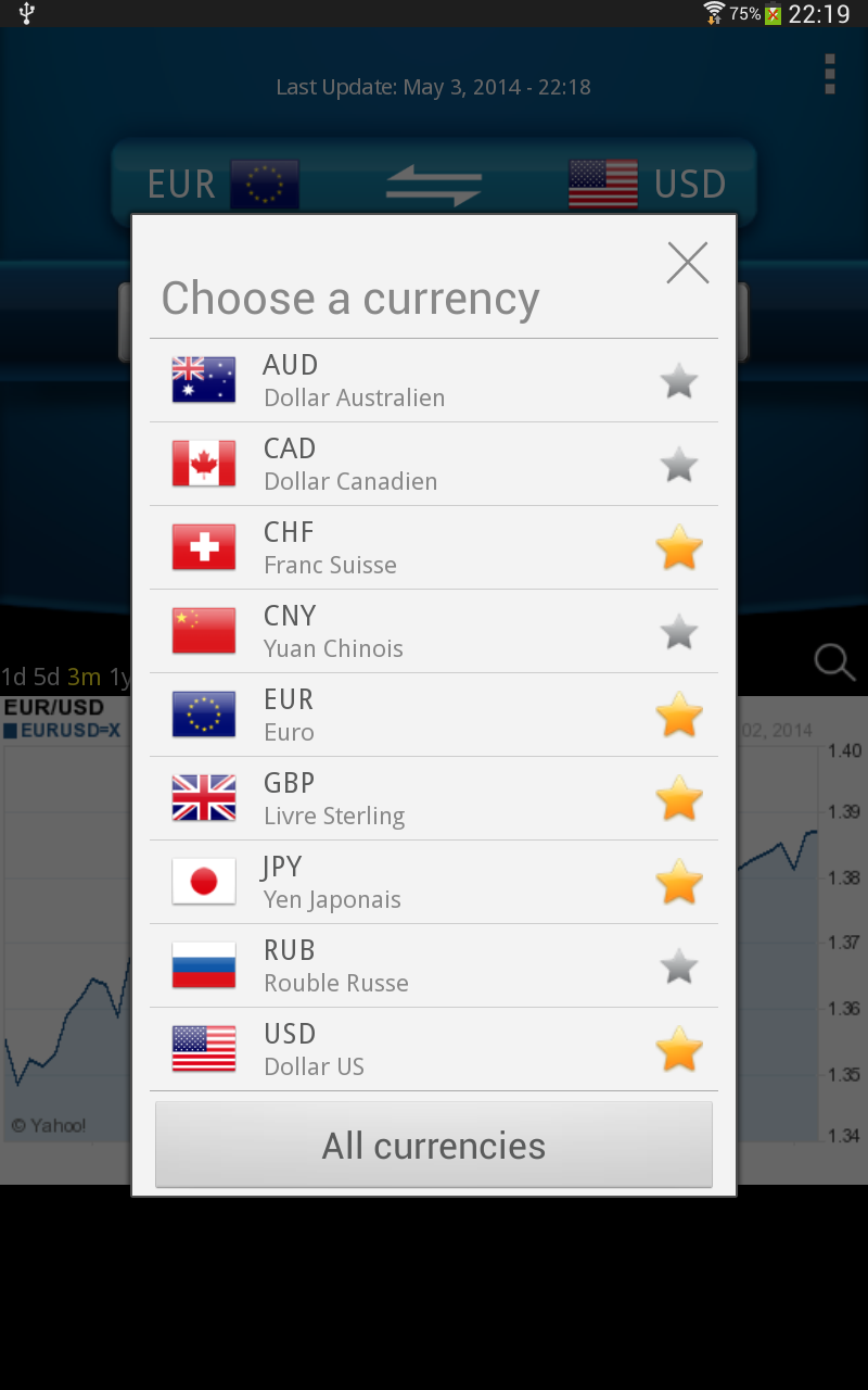 Easy Currency Converter Pro Screenshot 6