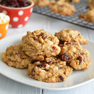 Cranberry Oatmeal Chip Cookies.