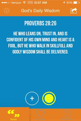 God's Daily Wisdom