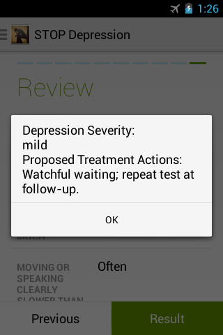 STOP Depression- screenshot