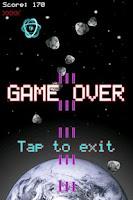 Screenshot of Meteor Mash Space Shooter Free