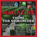 Magazine 1 Theme ssLauncher OR icon