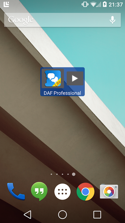 DAF Professional Lite - screenshot