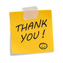 """Thank You"" Quotes icon"