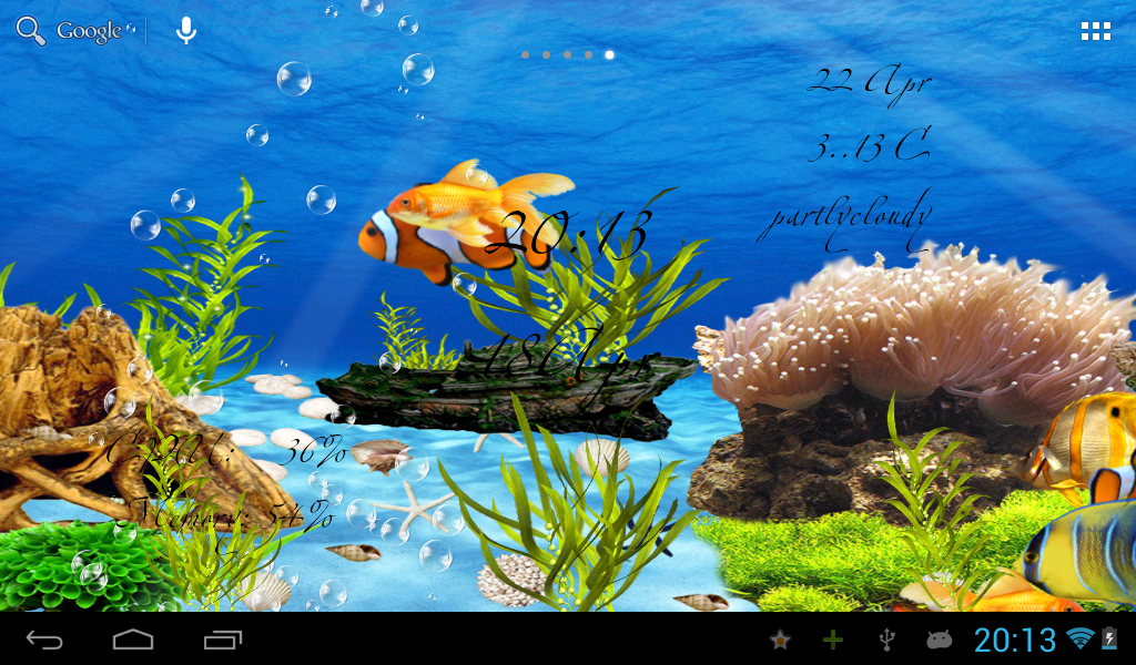 Aquarium live- screenshot