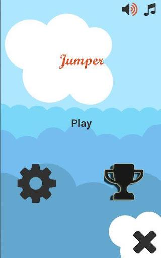 Trampoline Jumper Game