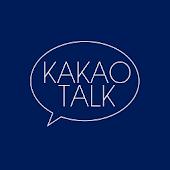 Simple Navy Blue Kakao Theme