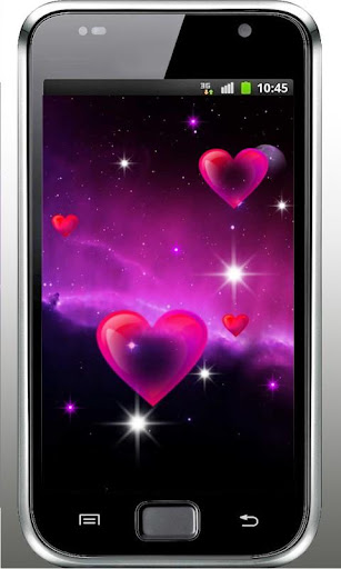 Galaxy Love Live Wallpaper