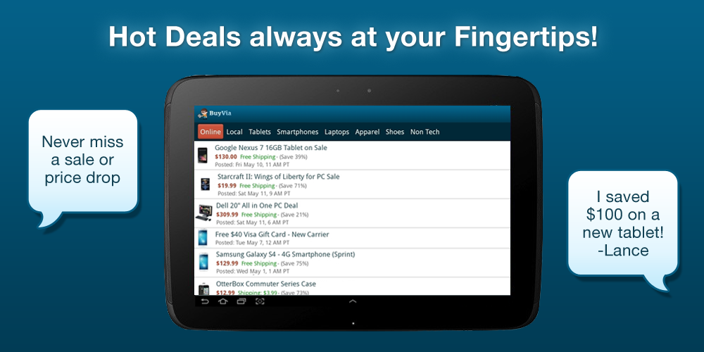 Great Deals - screenshot