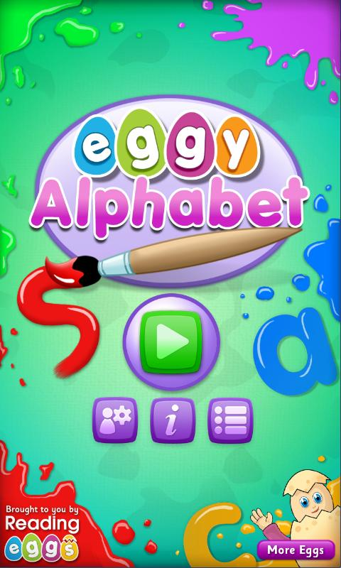 Eggy Alphabet - screenshot