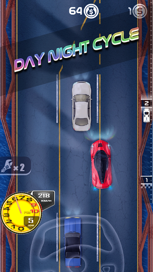 Dusk Racer: Super Car Racing- screenshot